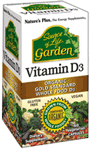 Nature's Plus Source of Life Garden Vitamin D3