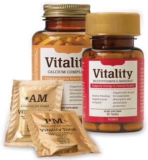 Melaleuca Vitality multivitamins