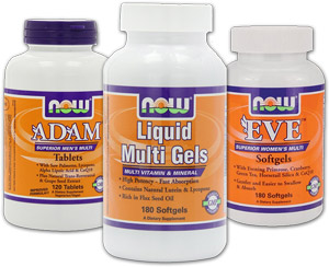 NOW Foods multivitamins