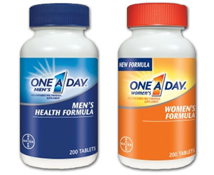 One A Day Multivitaminsvitamins review