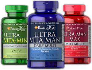 Puritan's Pride multivitamins