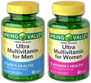 Spring Valley multivitamins