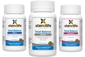 Xtend-Life Total Balance multivitamins